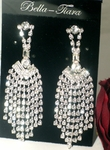 Dazzling rhinestone chandelier earrings - SPECIAL - TWO LEFT