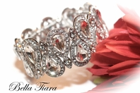 Delia - GORGEOUS Swarovski crystal bridal bracelet -OUT OF STOCK