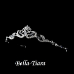 Delicate rhinestone and crystal communion tiara - SPECIAL