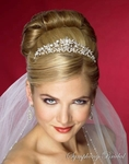 Diana - Princess crystal swirls bridal tiara - SPECIAL SALE!!!