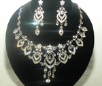 Diana - Stunning Swarovski crystal necklace set - SPECIAL two left