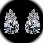 Edita - Elegant CZ earrings - SALE