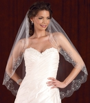 Edward Berger Breathtaking Couture bridal veil - 4973 - SALE!