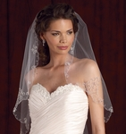 Edward Berger Bridal Beaded Veil - 4952