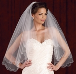 Edward Berger Bridal Veils - 2 tier - 4956