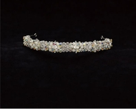 Edward Berger Freshwater Pearl and Crystal Headband-2319-SALE