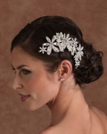 NEW!! Stunning Edward Berger designer wedding Headpiece - 2531