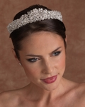 NEW!!! SPECTACULAR Edward Berger wedding crystal tiara - SPECIAL!! ONE LEFT!!
