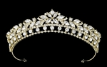 Elaiza - NEW gorgeous light gold wedding tiara crown - SAL