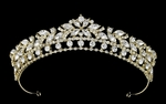 Elaiza - NEW gorgeous light gold wedding tiara crown - SALE