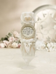 Elegant Carved Pillar Unity Candle