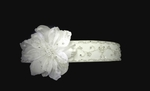 Elegant couture beaded floral bridal wedding belt sash - SALE