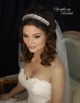 Elegant crystal wedding headpiece - SPECIAL