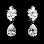 Elegant CZ earrings - OUT OF STOCK