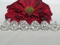 Elena-AMAZING!!! Vintage-Inspired CZ Crystal Hair Pins (set of 6)