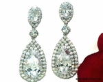 Elena - Gorgeous high end cz earrings - SALE