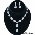 Ella- GORGEOUS Cubic Zirconia Bridal jewelry Set -SALE