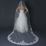 Ellia - Luxurious Collection - Romantic lace cathedral wedding veil - SALE