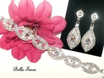 Emila - Beautiful earrings and bracelet set - SPECIAL