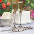 Enchanting Crystal Flutes - personalized