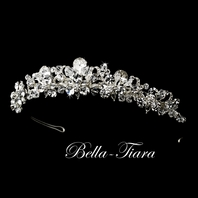 EPIC - STUNNING!!! Swarovski couture crystal wedding tiara - SALE