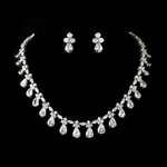 FABRIZIA - Gorgeous Elegant Cubic Zirconia wedding jewelry set - SALE!!
