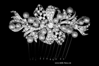Faithful - lovely off white pearl wedding hair comb - SPECIAL