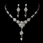 Fary-Delicate leaves jewelry set
