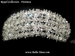 Fiorenza - Royal Collection - Couture Swarovski crystal tiara - SALE!!