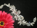 Florence - NEW!!! GORGEOUS bold crystal vine hair comb - SALE!!