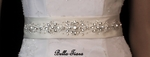 Beaded Design Bridal wedding sash Belt - SPECIAL