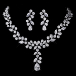 Forever - STUNNING CZ bridal necklace set - SALE!!
