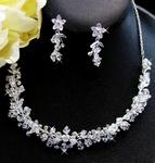 Gabriella-Swarovski Crystal Necklace Set