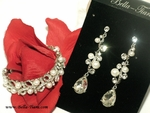 Galaxy - Beautiful pearl and crystal earrings and bracelet - SALE