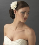 Gardenia Cluster Bridal Hair Flower  - SALE!!