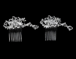 Gisella - Beautiful swarovski crystal bridal hair combs - SALE!!