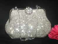 Giuliana -  Vintage Swarovski Crystal purse - CLEARANCE -- SOLD