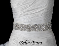 Glamorous all around crystal wedding belt - SALE
