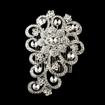 Glamorous Couture Swarovski Crystal Back Hair Comb - SPECIAL!!