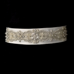 Glamourous crystal pearl beaded bridal sash - Special