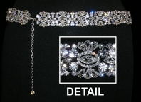 Glea - GORGEOUS VINTAGE Swarovski crystal wedding belt - SALE