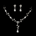 Gloria - Beautiful vine drop necklace set - SALE!!