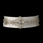 Gorgeous beaded bridal belt sash - SALE