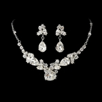 GORGEOUS Majestic Crystal rhinestone necklace set - SALE!!