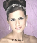 GORGEOUS wedding hair wrap stretch crystal headband - SALE