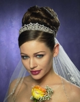 Gorgeous Swarovksi Crystal Royal bridal tiara - SALE