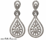 Graziana - Daring high end CZ vintage earring - Amazing price!!