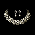 Harmony - Vintage light Ivory pearl Bridal Necklace set -  SPECIAL!!!