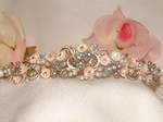 Heirloom- Champagne Crystal Bridal Tiara - SALE!!