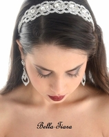 Helene - Lovely rhinestone stretch headband - SPECIAL